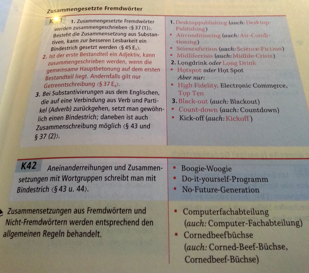 Bindestrich Regel 42 DUDEN