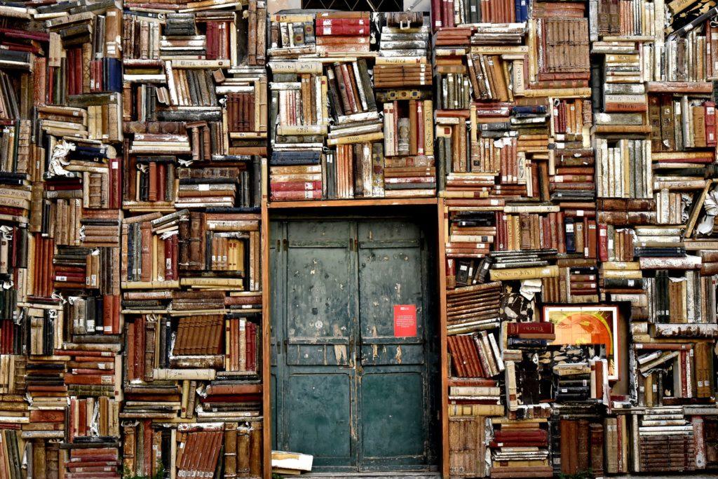 Wer ein Buch schreiben will, sollte viel lesen.